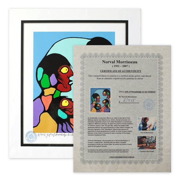 Gift of Knowledge to my Children - Norval Morriseau
