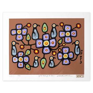 Oji-Cree Flowers for the Elders I - Christian Morriseau