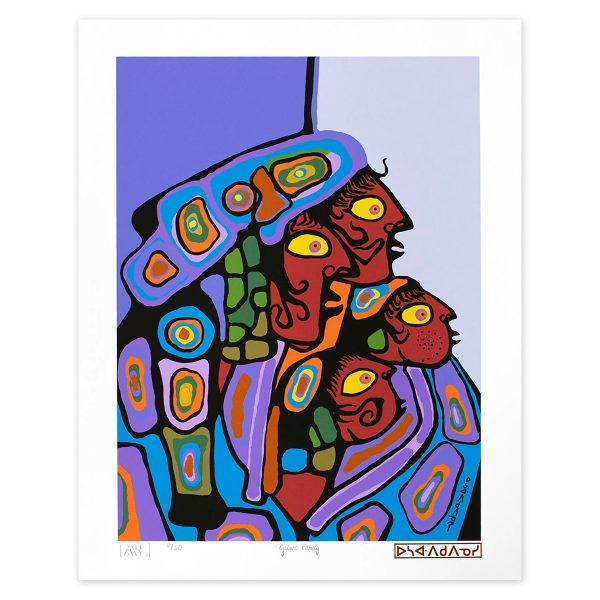 Ojibwe Family - Norval Morriseau