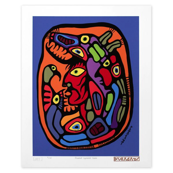 Personal Expanded Vision - Norval Morriseau