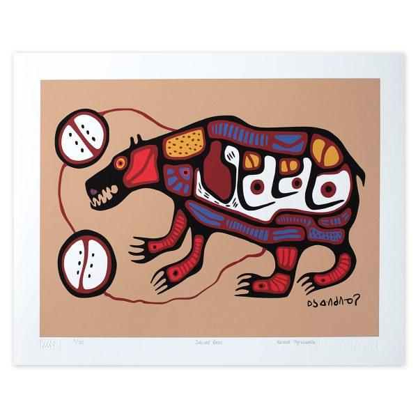 Sacred Bear - Norval Morriseau